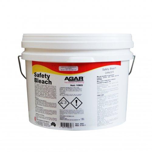 bleach/detergent powder