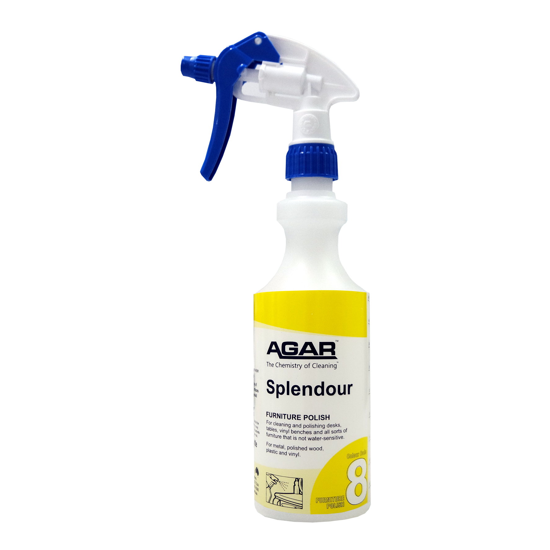 Spray Bottle For 8 Furniture Polish Online Cleaning Supplies