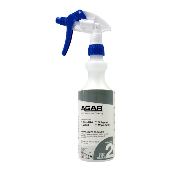Spray and wipe cleaner