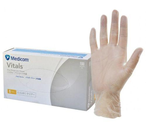 vitals clear vinyl glove